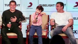 Tubelight: Salman Khan's young co-star Matin Rey Tangu was asked if this was his first time in India, his hilarious answer brought the house down