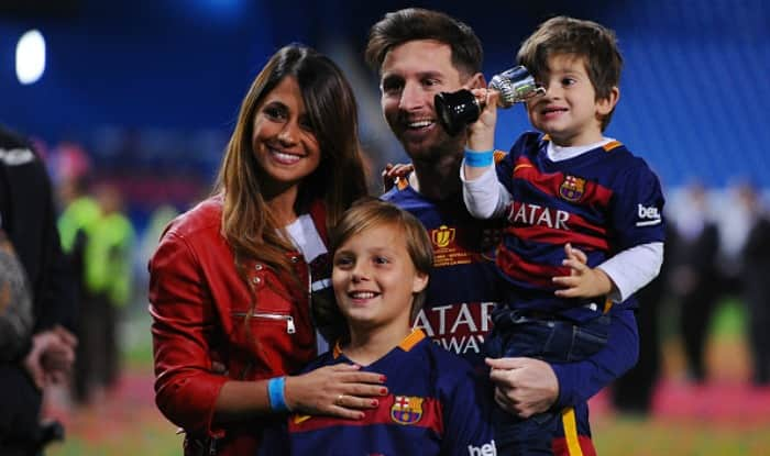 Barcelona star Messi weds childhood sweetheart