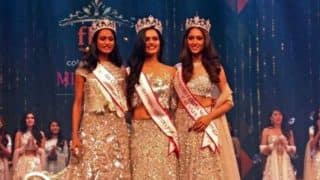 हरियाणा की मनुषि चिल्लर ने जीता कलर्स फेमिना मिस इंडिया-2017