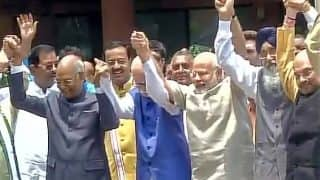 Ram Nath Kovind files nomination papers for Presidential election 2017 in presence of PM Modi, senior BJP leaders, allies