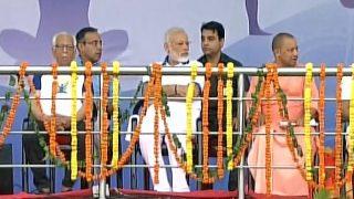 International Yoga Day 2017 Lucknow event highlights: PM Modi, UP CM Yogi perform yoga amid rain