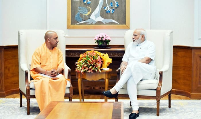 Yogi Adityanath and PM Narendra Modi (File image)