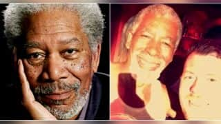 People mistake man in Magaluf for Morgan Freeman, he happily clicks selfies with them!