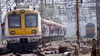 Mumbai monsoon: Harbour line affected by rains, train stuck between Mankhurd-Vashi for over 30 minutes