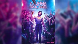 Munna Michael poster: Tiger Shroff steps into Michael Jackson's shoes in style