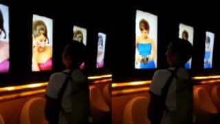 Navi Mumbai Mall's men's toilet shows videos of women in sexual, angry and crazy poses! Real or Fake?