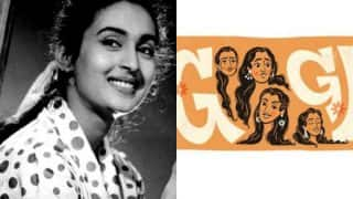Google remembers Nutan on her 81st birth anniversary by doodling her best expressions