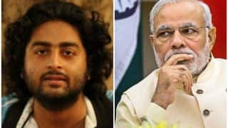 बढ़ते हुए रेप और छेड़छाड़ की घटना से दुखी होकर गायक अरिजीत सिंह ने गुस्से में किया प्रधानमंत्री मोदी को ट्वीट