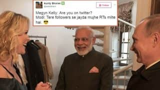 Narendra Modi with World's 3rd most followed account was asked if he was on Twitter by Journalist Megyn Kelly! Twitterati mock the embarrassing moment