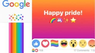 LGBT Pride Month celebrated by Facebook & Google with hidden rainbow reactions and artworks! Here is how you can find it
