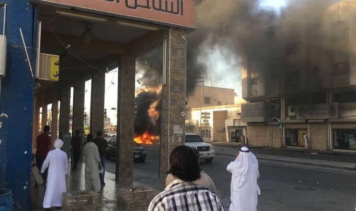 Saudi media report car bomb explosion in Shiite neighborhood