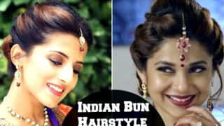 Jennifer Winget's traditional look: Step-by-step guide to nail the Beyhadh actress' bun hairdo