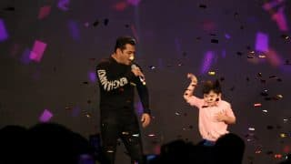 You cannot miss this insanely cute banter between Salman Khan and his Tubelight co-star Matin Rey Tangu - watch video