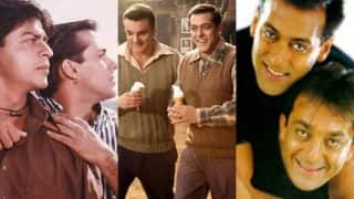 Salman Khan's bond with Shah Rukh Khan, Sohail Khan, Sanjay Dutt prove that he is the King of BROMANCE!
