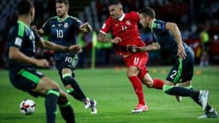 FIFA 2018 World Cup Qualifier: Wales remain in contention after 1-1 draw with Serbia