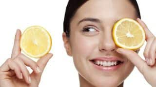 DIY lemon face mask to lighten blemishes and dark spots!