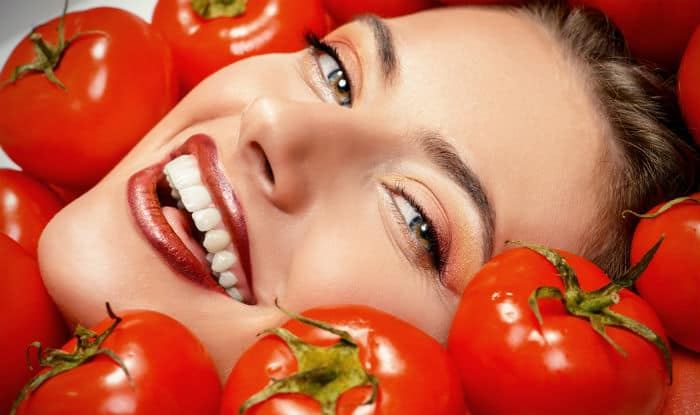 Image result for tomato for face