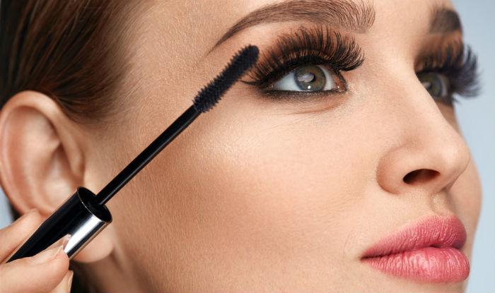 Image result for applying mascara