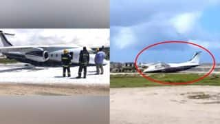 Plane makes successful emergency belly landing at Somalia airport, all passengers saved (Watch Video)