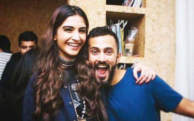 Video; Sonam Kapoor spends her birthday with alleged boyfriend Anand Ahuja