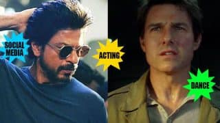Shah Rukh Khan beats Tom Cruise in acting, dancing and social media skills according to this video