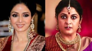 Sridevi reveals why she chose to let go Shivagami's role in SS Rajamouli's Baahubali franchise