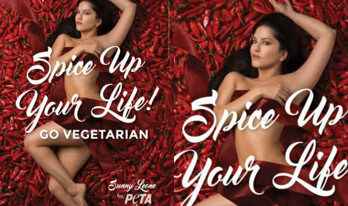 Sunny Leone Promotes Vegetarianism In New PETA Ad Campaign