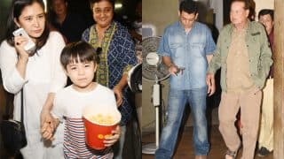 Salman Khan hosts a special screening of Tubelight for father Salim Khan and his little co-star Matin Rey Tangu's family - view pics