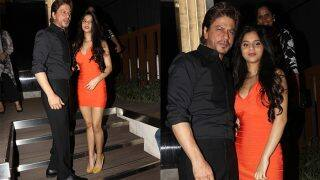 Suhana Khan looks Bollywood ready as she steps out with Shah Rukh Khan for the launch of a restaurant - view pics!