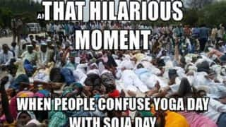 Yoga Day Images: Hilarious memes of politicians performing asanas on International Yoga Day 2017