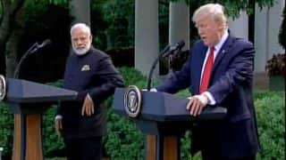 Full text: Joint statement by US President Donald Trump and PM Narendra Modi after White House meet