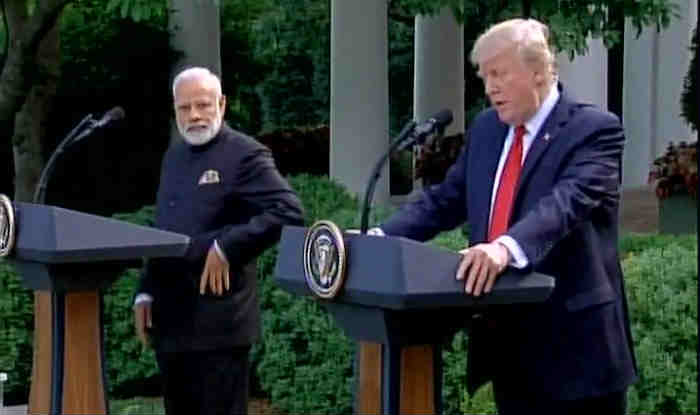 Modi and Trump issue joint statement