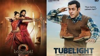 रिलीज़ के पहले ही 'ट्यूबलाइट' ने तोडा 'बाहुबली 2' का रिकॉर्ड... आगे आगे देखो होता है क्या