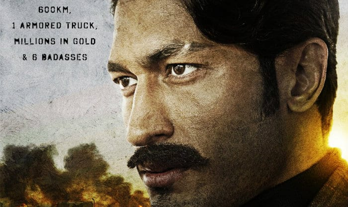 Vidyut Jammwal On Baadshaho's Poster - Tough, Gritty & Dynamic Badass!