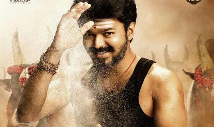 Vijay 61 - Mersal First look poster out now
