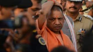 BJP Embarrassed After Video of UP CM Yogi Adityanath Laughing During ND Tiwari's Final Rites Goes Viral