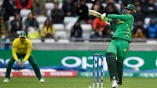 चैंपियंस ट्रॉफीः पाकिस्तान ने दुनिया की नंबर एक टीम दक्षिण अफ्रीका को 19 रन से हराया