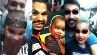 Rohit Sharma and Ajinkya Rahane play with Shikhar Dhawan's son Zoravar before Champions Trophy 2017! BCCI shares adorable video