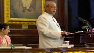 Pranab Mukherjee's Address to Nation Live Streaming: Watch Online Telecast of Outgoing President's Last Speech
