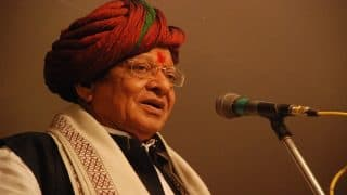 Congress Sacked me 24 Hours Ago Fearing my Next Step, Says Shankersinh Vaghela