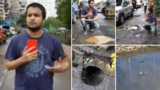 Jose Covaco Backs RJ Malishka, Shares Hilarious Video On Twitter Featuring Potholes Seen On Mumbai Roads In Bandra