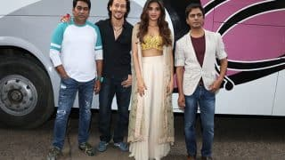 Tiger Shroff, Nidhhi Agerwal and Nawazuddin Siddiqui promote Munna Michael in their stylish avatar- View Pics