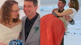 A Couple got Married in Sub-Zero Temperatures in the British Antarctic Territory are Giving us Love Goals!