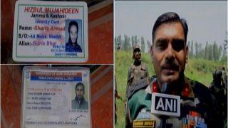 जम्मू-कश्मीरः पुलवामा एनकाउंटर में सुरक्षा बलों ने मार गिराए दो हिज़बुल आतंकी