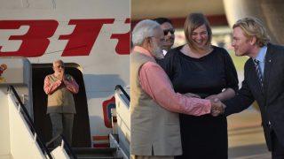 ऐतिहासिक इजरायल दौरे के बाद जी20 शिखर सम्मेलन के लिए हैम्बर्ग पहुंचे मोदी