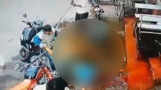 Dhule: Goon Brutally Hacked to Death With Swords; Horrific Video of Murder Creates Panic