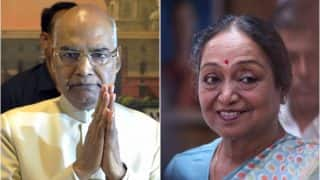 राष्ट्रपति चुनाव: मतदान आज, एनडीए उम्मीदवार रामनाथ कोविंद की दावेदारी मजबूत