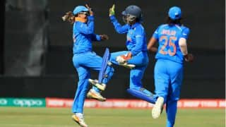 India vs Pakistan Women's World Cup 2017: Ekta Bisht Scalps Five-for as IND Beat PAK by 95 Runs