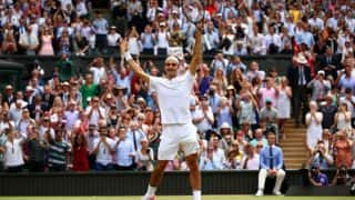 Roger Federer vs Marin Cilic Wimbledon 2017 Men's Singles Final Highlights: Federer Wins Record Eighth Title