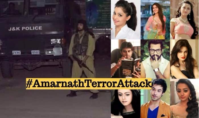Amarnath Yatra Terror Attack Condemned by Indian TV Celebs